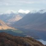 Looking north up Loch Etive